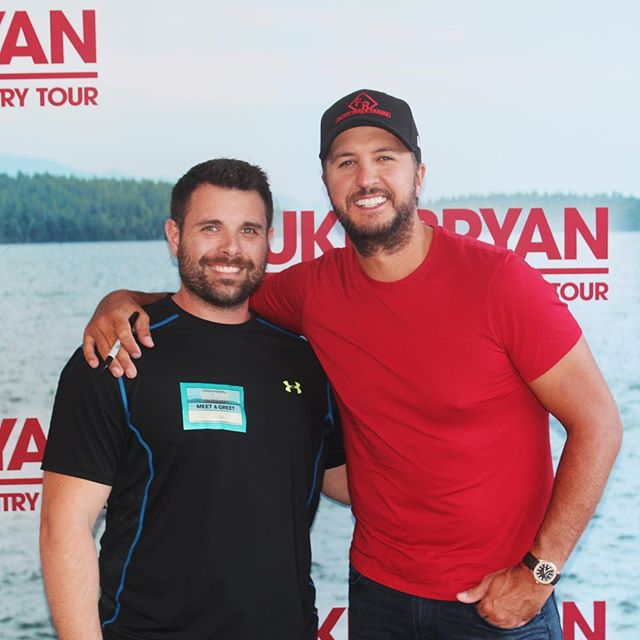 So i got to meet this luke bryan guy today precision fitness so i got to meet this luke bryan guy today m4hsunfo